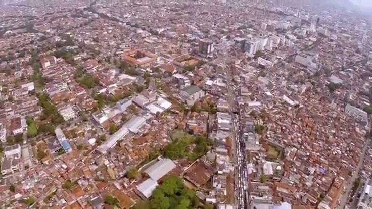 Bandung - A Crowded City in The World