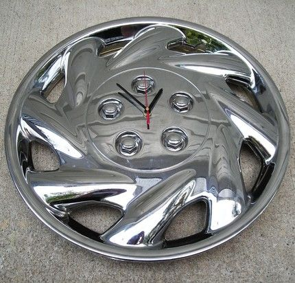 221 best vehicles images on pinterest cars car stuff and cool trucks wheel cap clock projects crafts diy do it yourself interior design solutioingenieria Choice Image