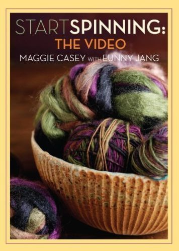 Start Spinning the video Maggie Casey 2 DISC SET Spinning Wheel Yarn