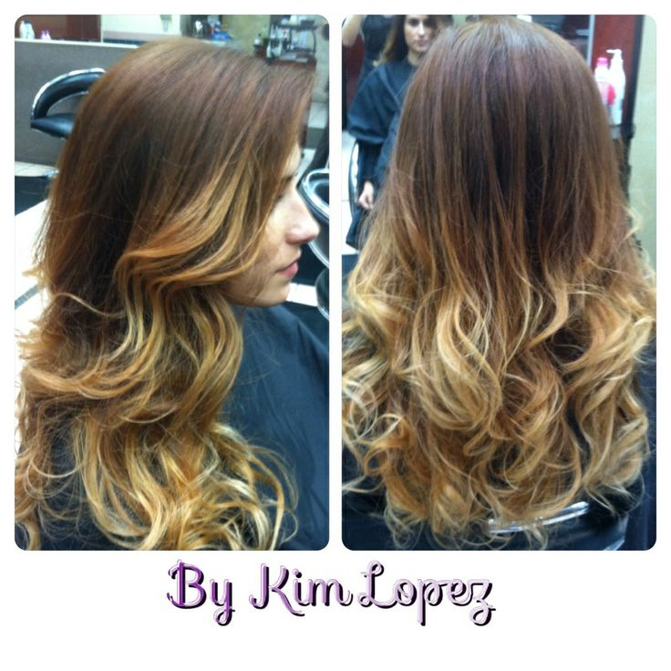 Blonde highlighted ends