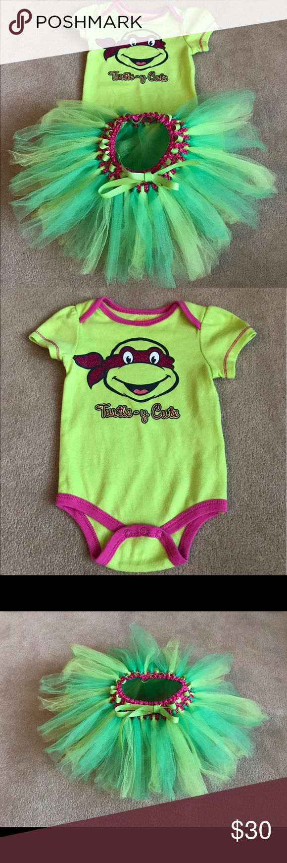 3-6 Months Ninja Turtle Outfit Would be adorable dressed up for a Ninja Turtle-themed birthday party!  We used once for that! Janie and Jack Matching Sets