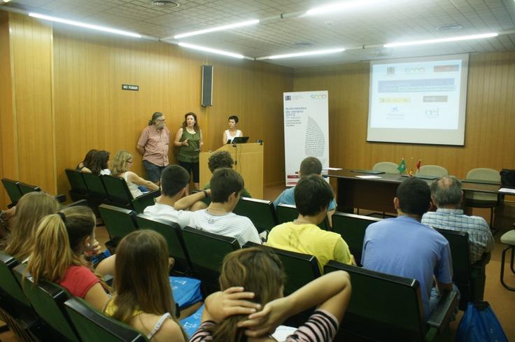 Los Campus Científicos de Verano 2012 de Campus Mare Nostrum están financiados por la Fundación Española para la Ciencia  y la Tecnología (FECyT) y cuentan con la colaboración de la Obra Social 'La Caixa' (03/07/12)