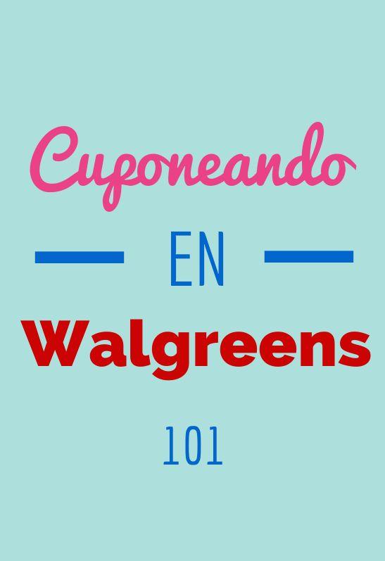 Cuponeando en Walgreens 101