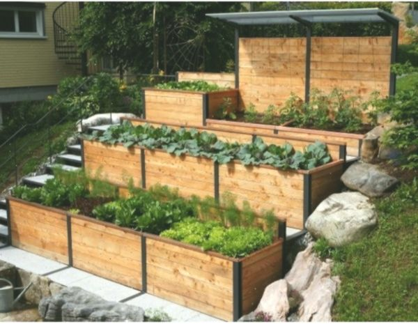 Hochbeet In 2020 Diy Stairs Diy Garden Projects Diy Garden