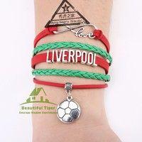 Wish | Liverpool Football League Logo Handmade Bracelet