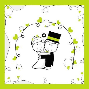 Brides Invitation Kit with amazing invitation design