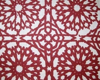 Martyn Lawrence-Bullard Design Mamounia Petite Fabric eclectic upholstery fabric