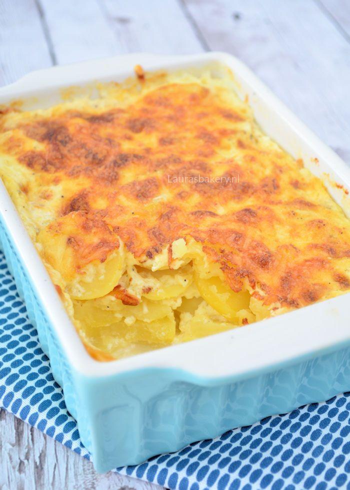 Heb jij wel eens zelf aardappelgratin gemaakt? Het is niet moeilijk en staat zo op tafel. Het is ook nog eens ontzettend lekker, ik heb het recept voor je!