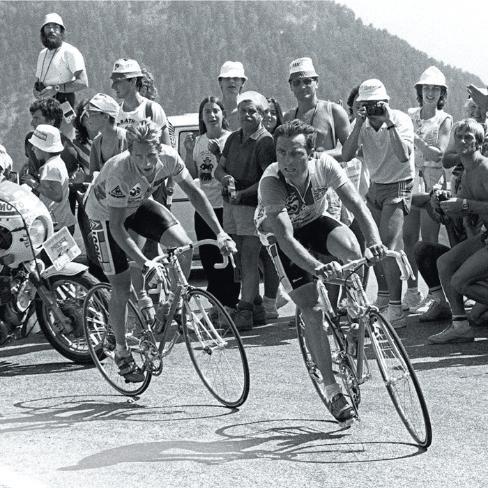 1986 Tour de France - Lemond versus the Badger (Bernard Hinault)
