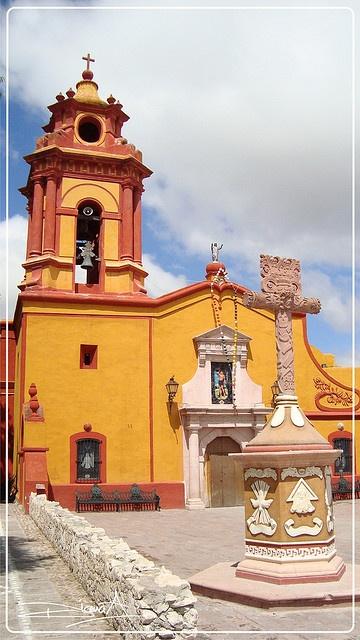 Iglesia de San Sebastián Bernal: Another lovely place in Mexico I've visited