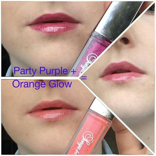 Shimmery lipgloss by sonya