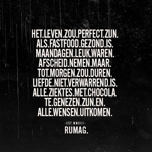 Rumag perfect leven