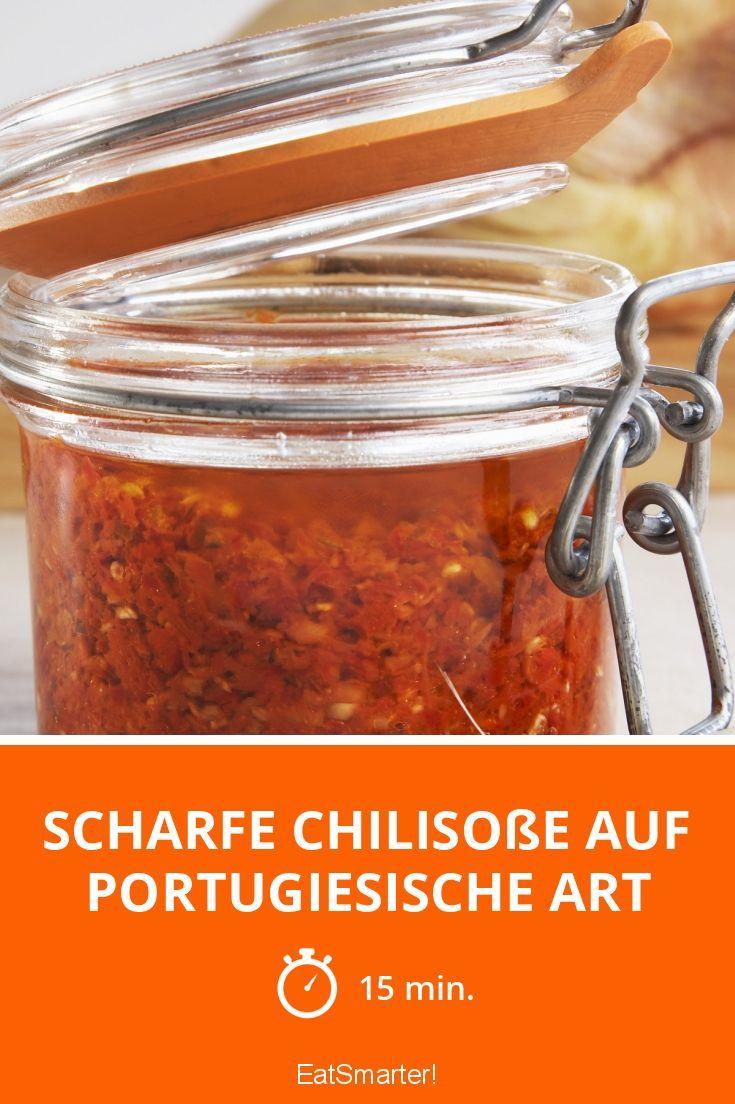 Scharfe Chilisoße auf portugiesische Art - smarter - Zeit: 15 Min. | eatsmarter.de