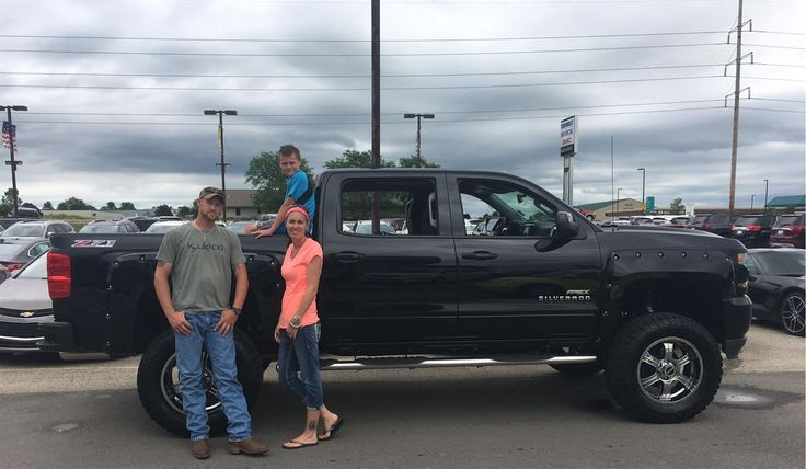"Joseph and Angela, wishing you many ""Miles of Smiles"" in your 2016 CHEVROLET SILVERADO!  All the best, Kunes Country Chevrolet Buick GMC and ELI LAZAR."