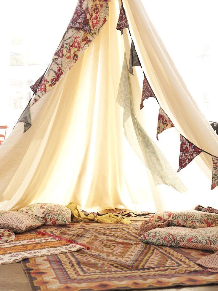 C'est quand même cool les tentes