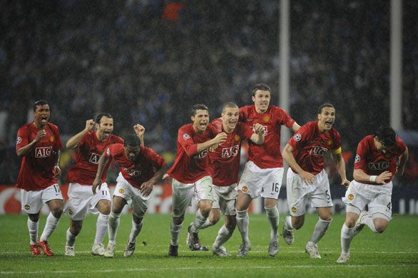 Moscow 2008 Champions League Final penalty shootout!