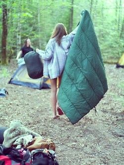 Combine a few friends + the right equipment + a smidge of laughs + a large heaping of adventure = an epic camping trip