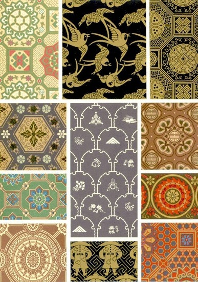 Japanese ornaments #patterns