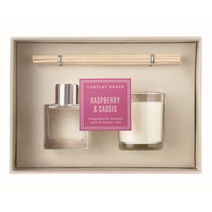 Raspberry & Cassis Candle & Diffuser