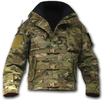 Offering a wide range of features, the Kitanica Mark I Multicam is a tactical jacket with the latest camouflage pattern.