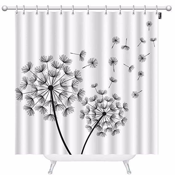 Decorate Your Bathroom With This Beautiful Dandelion Shower