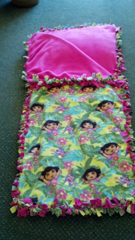 This Is The No Sew Sleeping Bag I Made Pins I Have