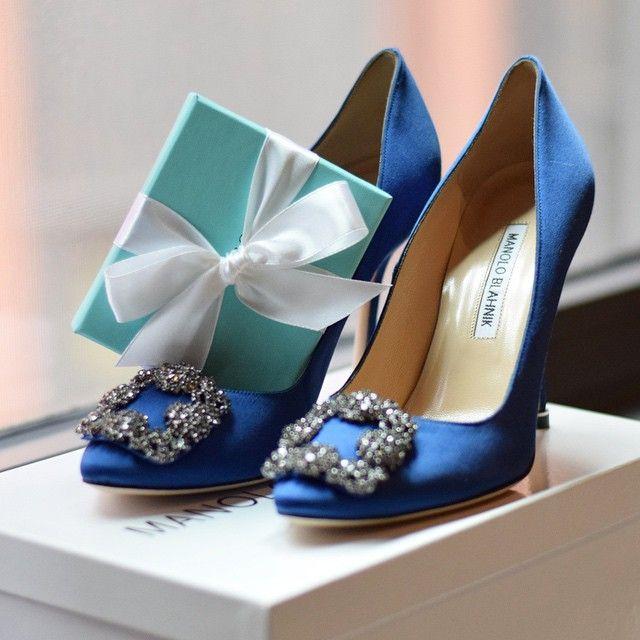96d8f94203c0c Manolo Blahnik Hangisi Royal Blue & Tiffany&Co box yasmin_dxb ...