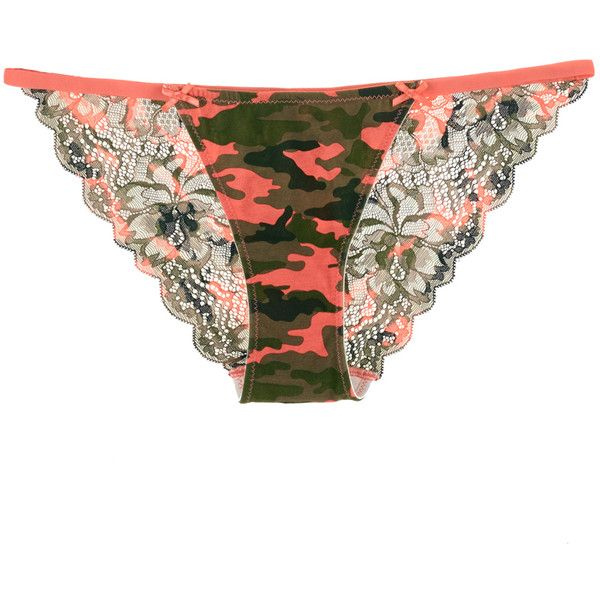 Peeky String Bikini Cotton & Lace ($3) ❤ liked on Polyvore featuring intimates, panties, lingerie, sunset camo, petite lingerie, lace lingerie, cotton string bikini, lacy lingerie and string bikini