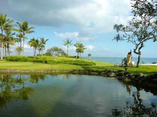 Pan Pacific Nirwana Bali Resort: view from breakfast area at Merica Terrace