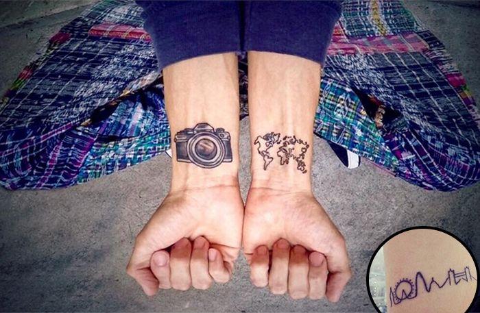 11 fantastiska tatueringar som får oss att vilja se världen