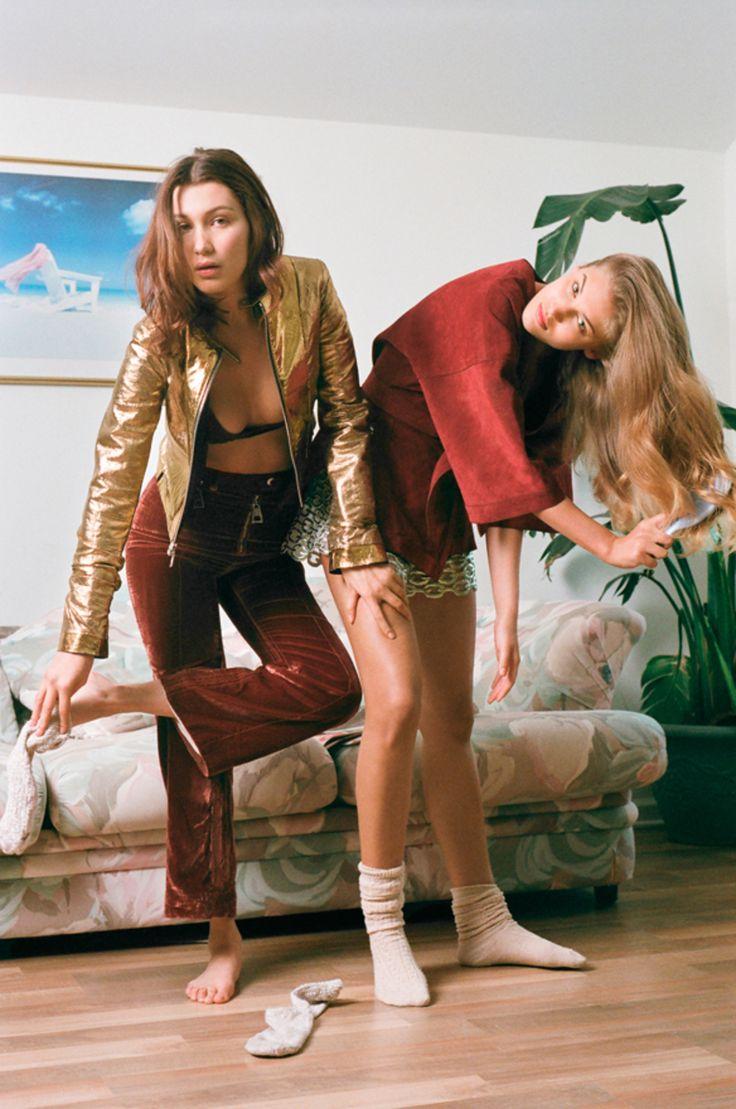 visual optimism; fashion editorials, shows, campaigns & more!: bella hadid and sonya gorelova by brianna capozzi for pop spring / summer 2015