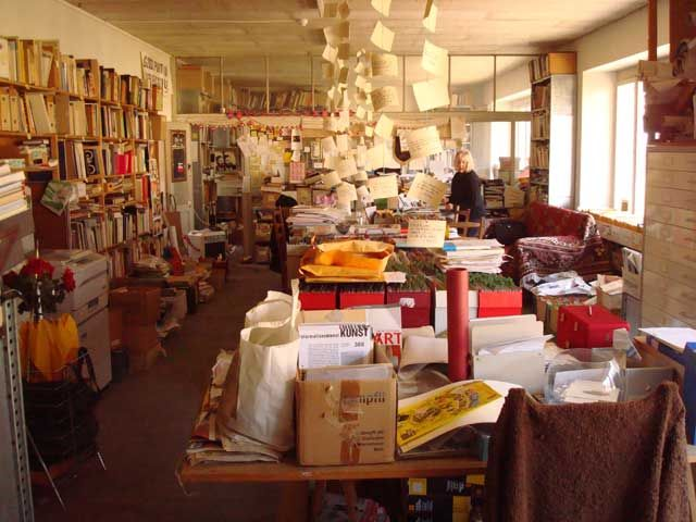 The greatest curator of the post-war era. Szeemann Archive and Library (Getty Research Institute)