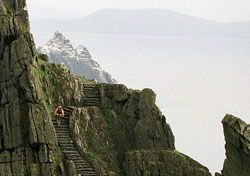 Skellig Michael, Ireland. (on the ring of Kerry) article by Josh Roberts via Smarter Travel.