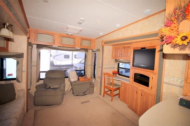 Used 2008 Jayco Eagle 341RLQS Fifth Wheel For Sale - Camping World RV Sales - Myrtle Beach