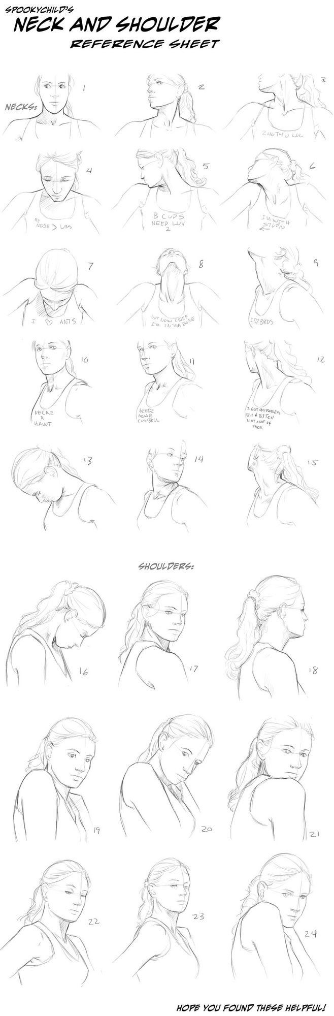neck and shoulder reference
