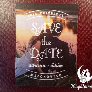 Save the Date kártya  #esküvő #savethedate #papír #kártya #egyedi #wedding #paper #unique #photo