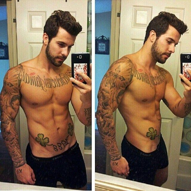 Justin Charles Reed | Tattoo Man-eata | Pinterest | Eye candy