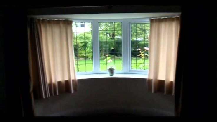 Furniture: Amazing Bay Window Curtains Ideas Also Bay Window Yellow Curtains from 5 Tips In Decorating Your Home With Bay Window Curtains