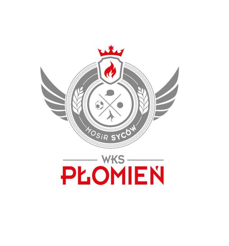 WKS Płomień Logo