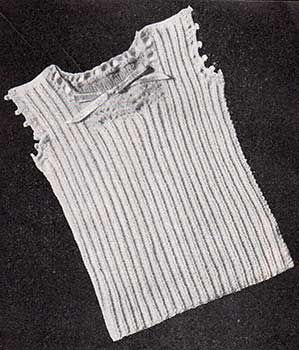 Baby Vest Knitting Patterns Baby And Crochet Edgings On