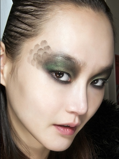 Military trend, make up ideas