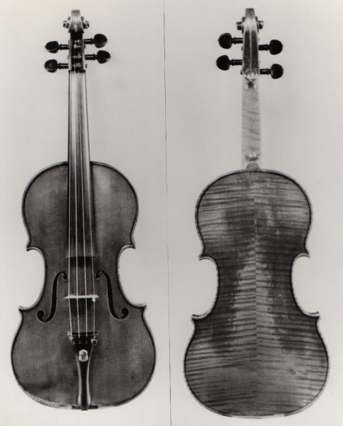 "The ""Circle"" Violin, made by Antonius Stradivarius, 1701."