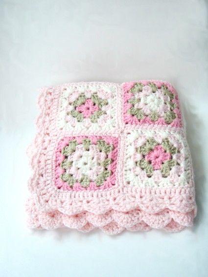 Pink Crochet Baby Blanket, Newborn Blanket Photo prop, Handmade Crochet baby blankets, Bedding, Baby accessories, Gift girl, Baptism, MOM