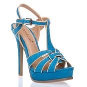 strappy stiletto sandals: Fun Summer, Blue Sandals, Shoedazzle, Blue Strappy, Style, Colors, Blue Shoes, Blue Heels, Elias Shoes