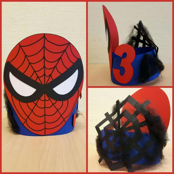 Spiderman hoed