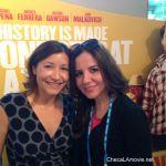 """Un screening en familia con las nietas de """"César Chávez"""" en #Hispz14."""