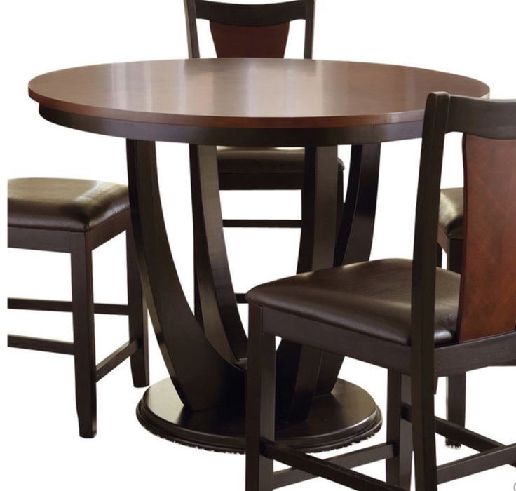 $572 http://www.houzz.com/photos/2 5792251/5-Pc-Gathering-Table-Set-Counter-Height-Table-And-4-Kitchen-Counter-Chairs-contemporary-indoor-pub-and-bistro-sets