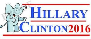 Funny Anti Hillary Clinton Campaign Mocking Magnet Bumper Sticker Easy to Remove | eBay