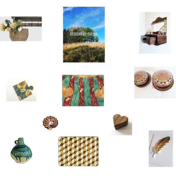 Etsy Gifts by einder on Polyvore featuring interior, interiors, interior design, home, home decor, interior decorating and Nature Home Decor