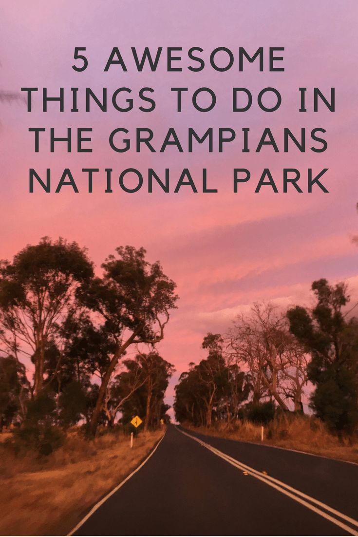 Looking for things to do in the Grampians National Park in Australia? The Grampians is the perfect weekend road trip. Check out my list of the top 5 awesome things to do in the Grampians National Park.